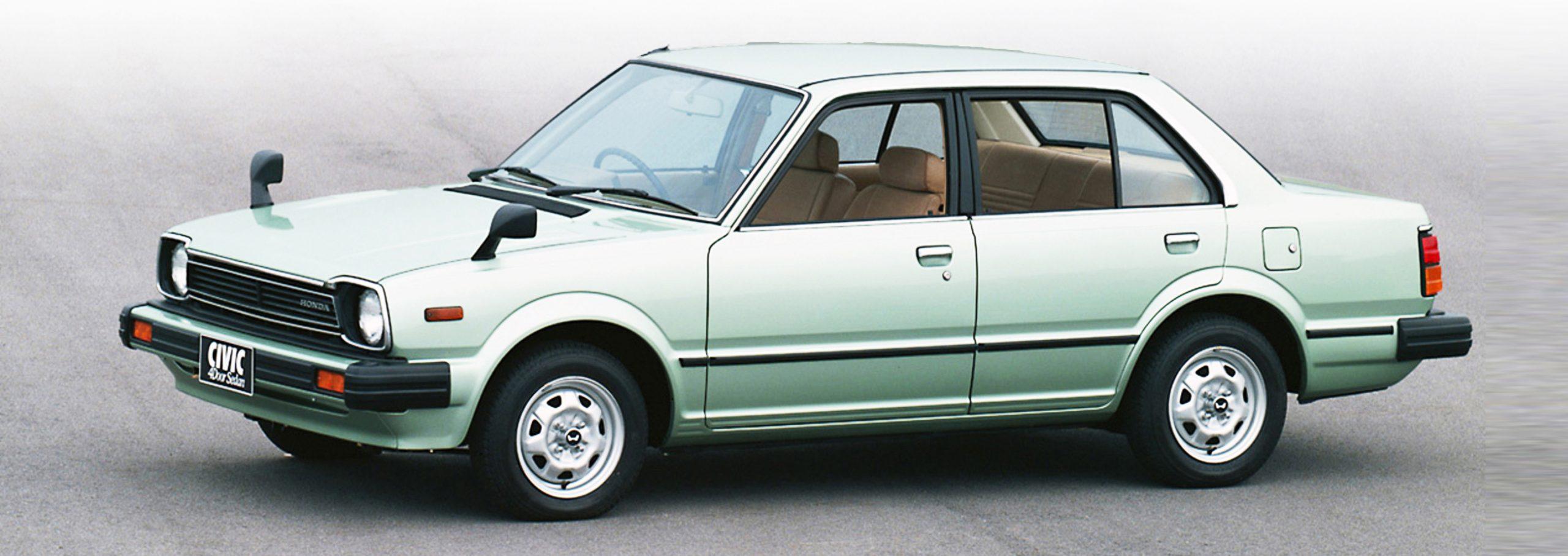 2'nci nesil Honda Civic sedan kasasıyla büyüdü