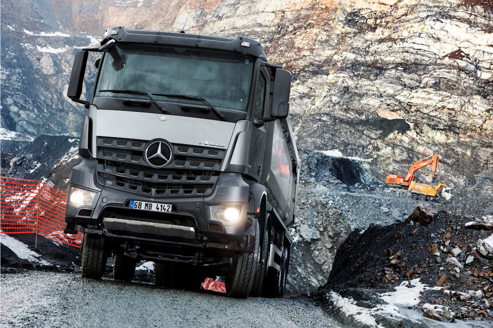 Mercedes kamyon ve çekicilerde kampanyaya devam