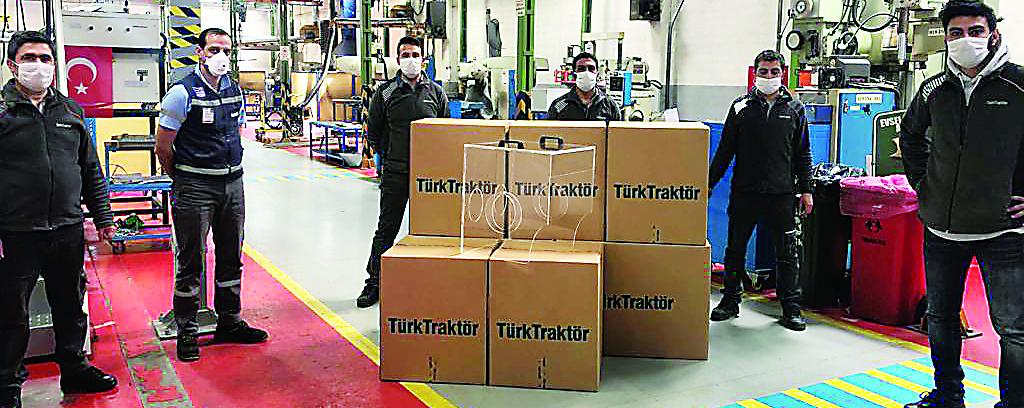 TürkTraktör sağlıkçılar için üretiyor