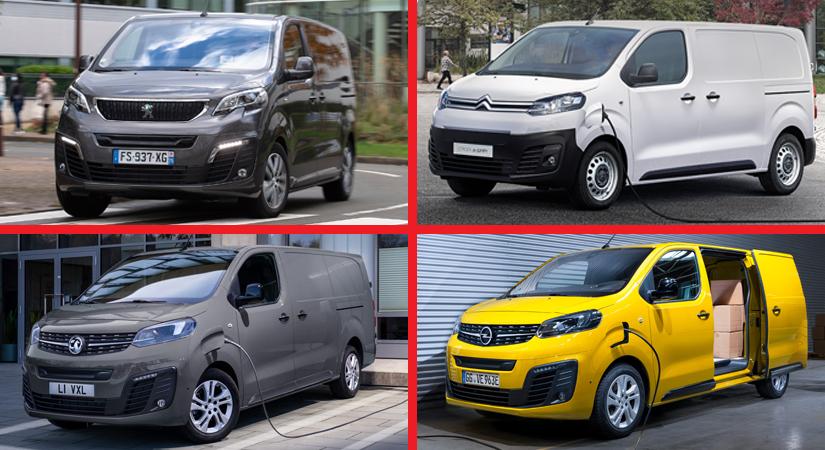 PSA'nın 'Elektrikli Van'ları ödüllendirildi