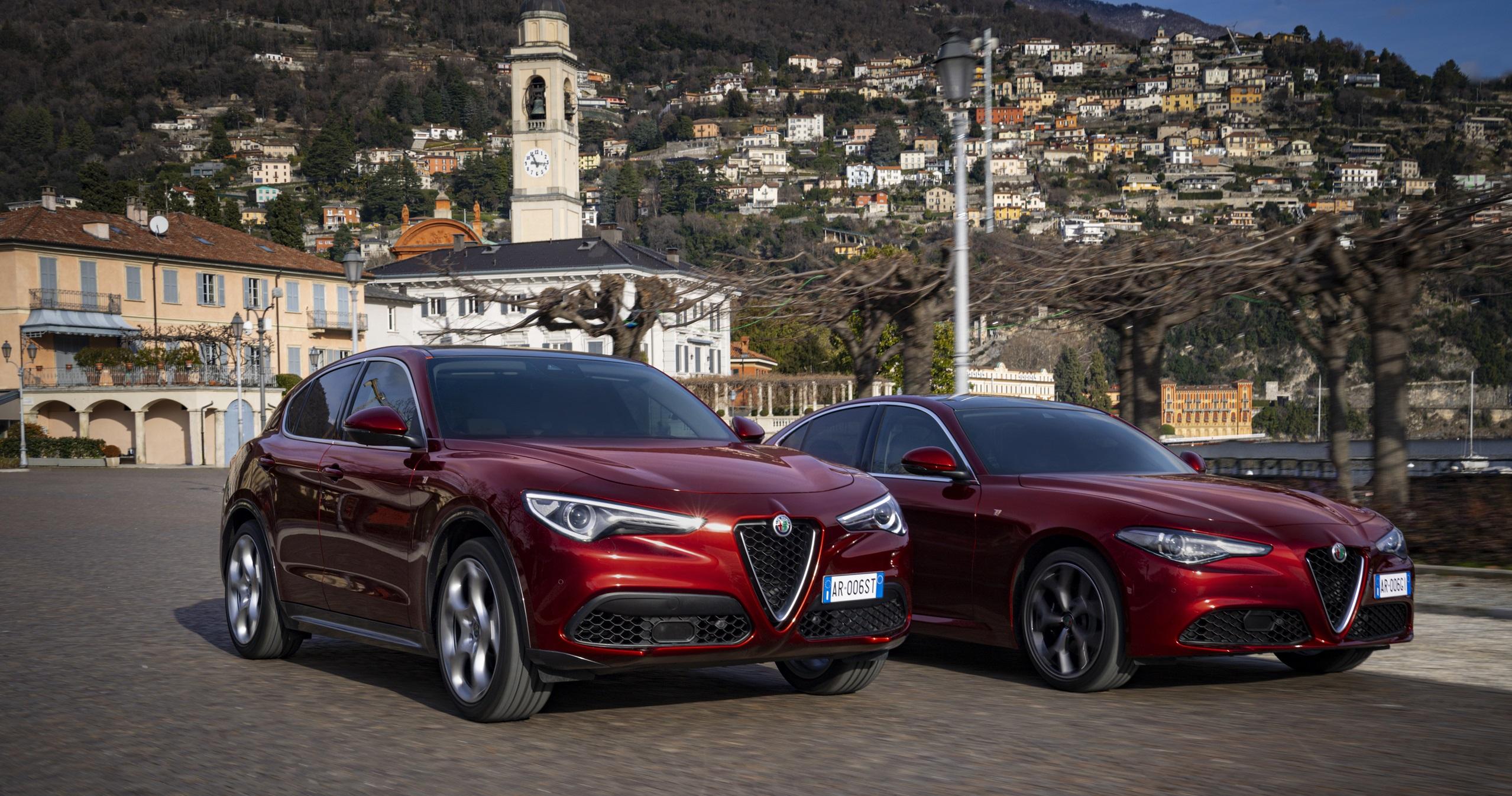 Özel seri Alfa Romeo'lar